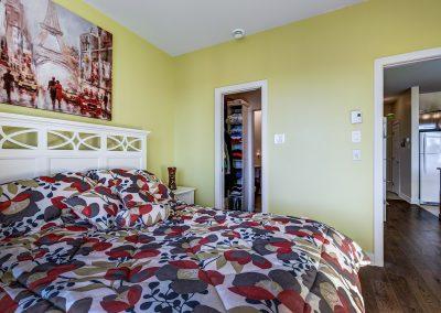 Chambre à coucher du condo au 305-919 Jules-Huot, Laval