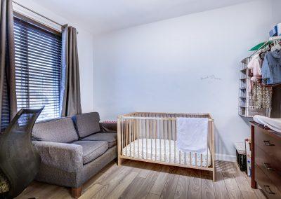 2e chambre à coucher du duplex au 2188 rue Denonville