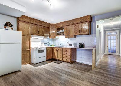 Cuisine du duplex au 2188 rue Denonville