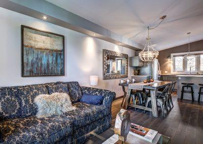 Salon et salle à manger du 604 rue Diane Ste-Dorothée Laval