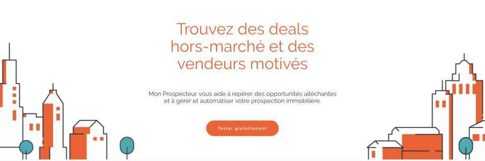 Mon Prospecteur real estate tool